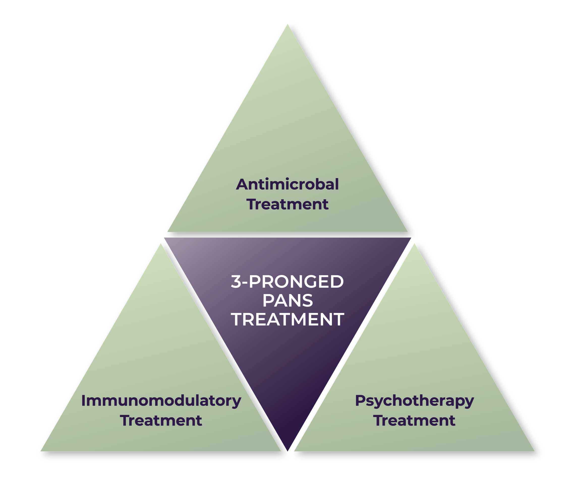 Treating PANS PANDAS Triange
