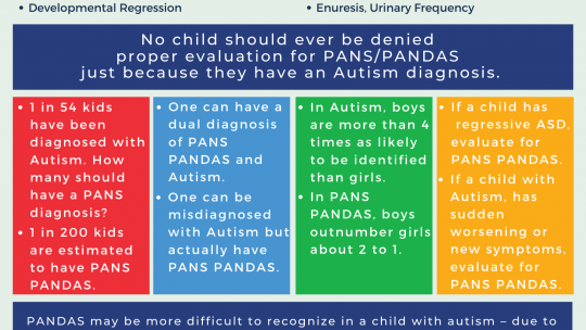 Autism and PANS PANDAS with Flyer
