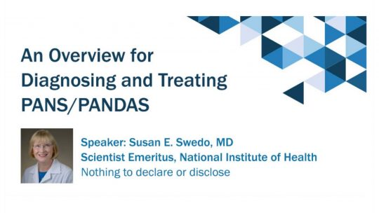 PANDAS Physicians Network PANS PANDAS Online CME Credit Learning Opportunity