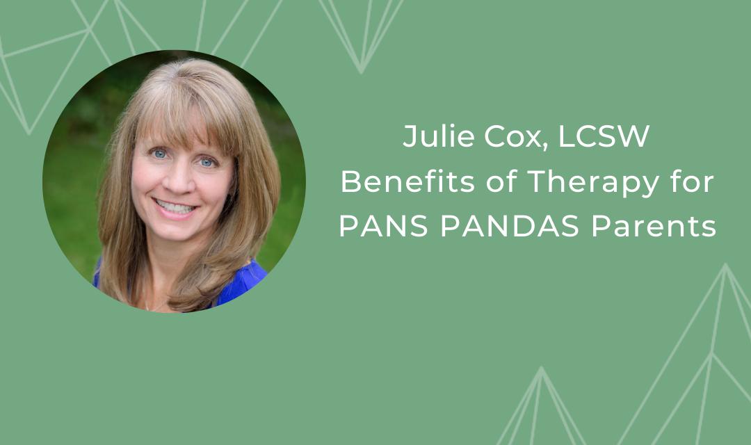 PANS PANDAS Parents & Therapy