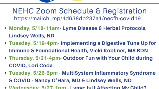 Education Series from New England Center for Health
