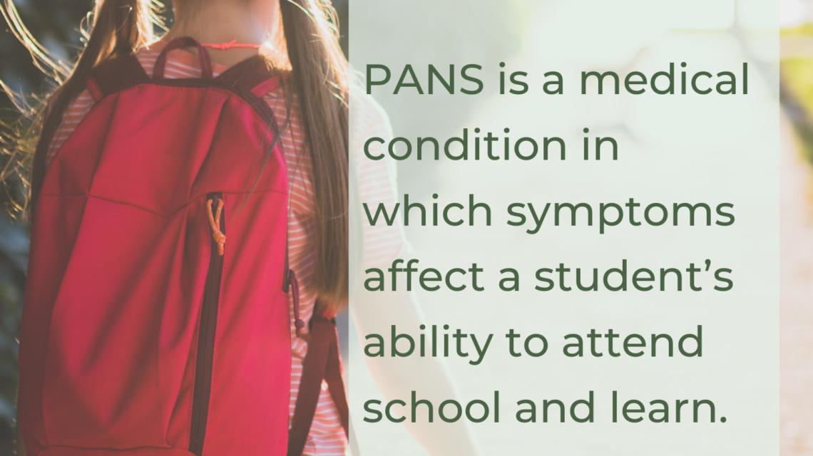 Flyer/Poster – PANS PANDAS Children at School