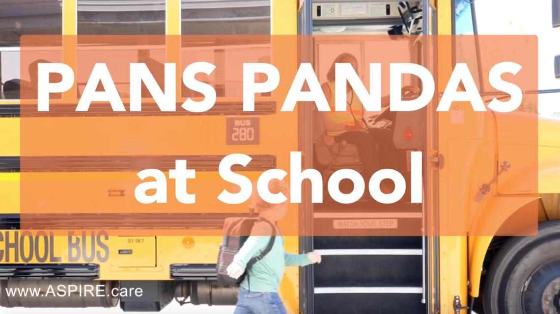 Video – PANS PANDAS at School