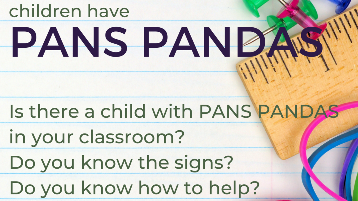 Flyer/Poster – PANS PANDAS in Your Classroom