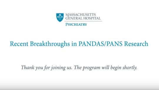 Recent Breakthroughs in PANDAS Research