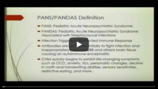 PANS and Lyme Disease in ASD – Tracy Fritz, MD