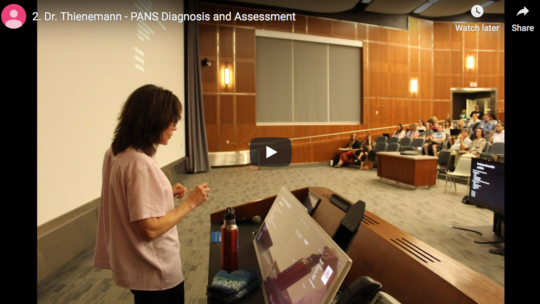Prairie PANS – Dr. Thienemann – PANS Diagnosis and Assessment