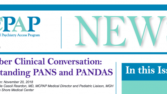 November Clinical Conversation: Understanding PANS and PANDAS
