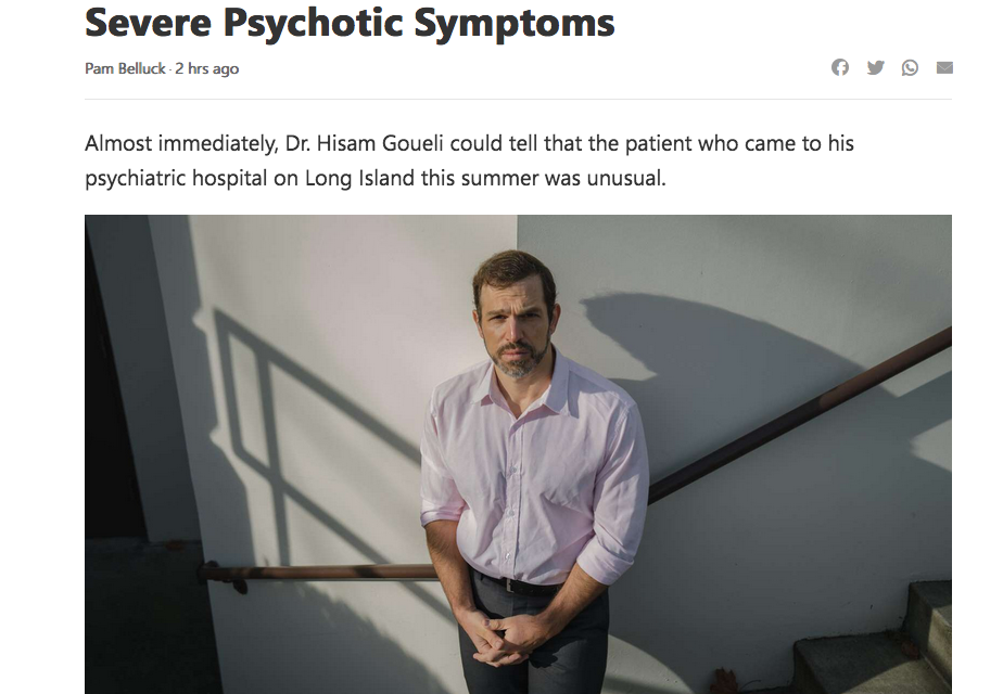 COVID Patients with Psychotic Symptoms