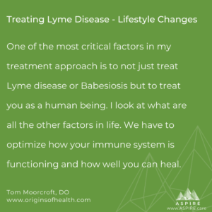 Treating Lyme Disease - Lifestyle Changes