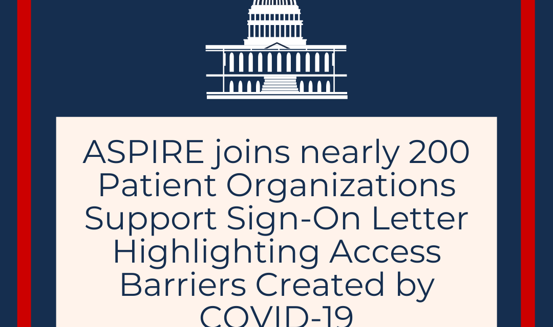 Co-Signs Letter Highlighting Access Barriers Created by COVID-19
