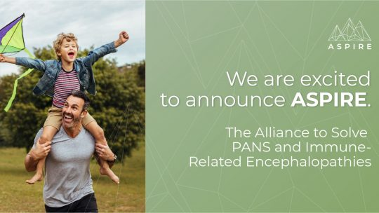 ASPIRE launches, dedicated to ending  PANS, PANDAS, and immune-related disorders